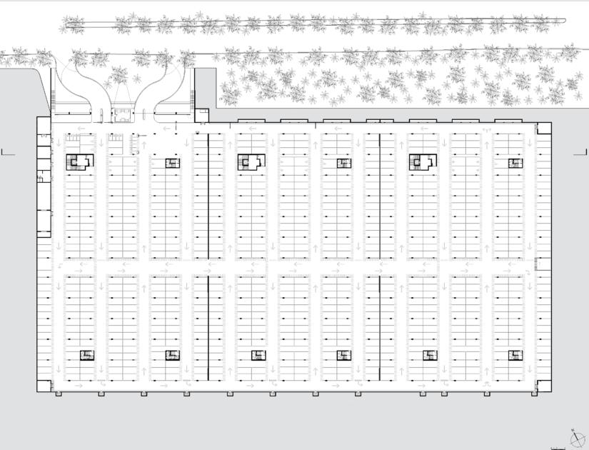 Golhen Associés - Casablanca - Parking Rachidi - Plan
