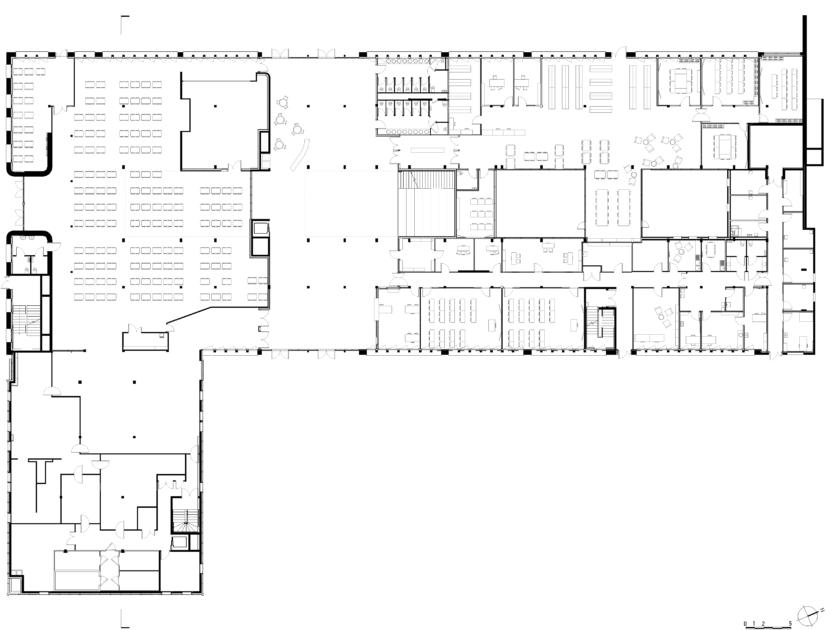 Golhen Associés - Lycée Henri Avril - Lamballe - Plan
