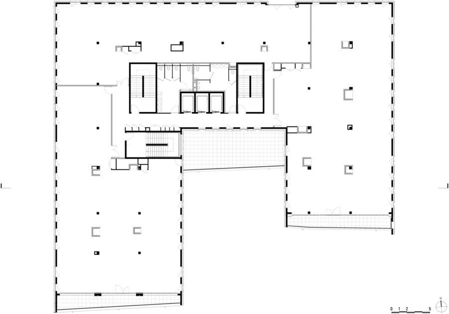 Golhen Associés - Caisse d'Epargne - Cesson-Sévigné - Plan 1