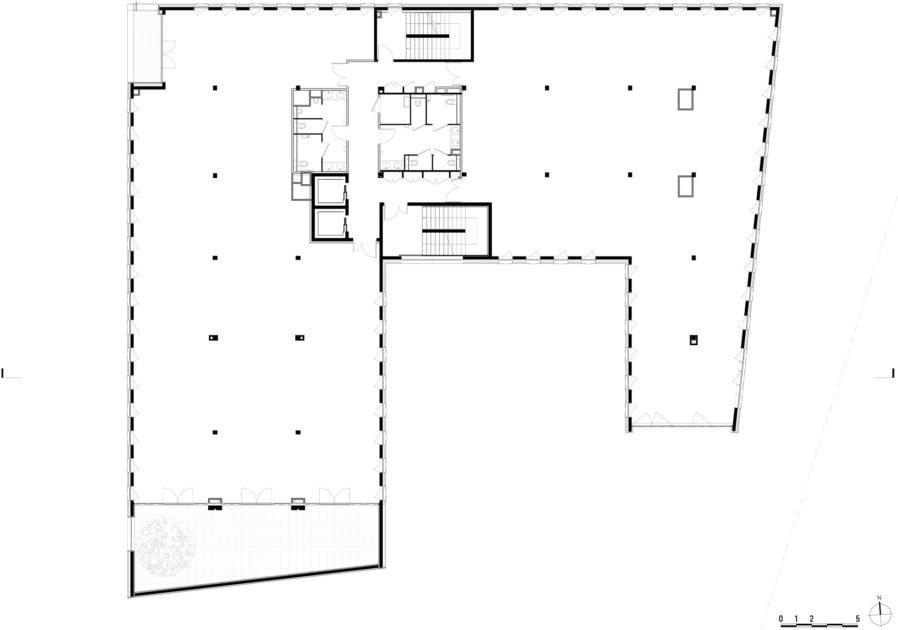 Golhen Associés - Caisse d'Epargne - Cesson-Sévigné - Plan 2