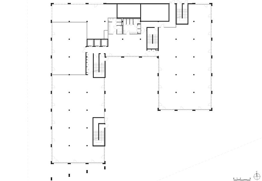 Golhen Associés - Caisse d'Epargne - Cesson-Sévigné - Plan 3