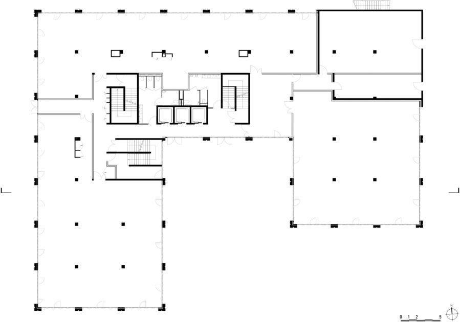 Golhen Associés - Caisse d'Epargne - Cesson-Sévigné - Plan 5