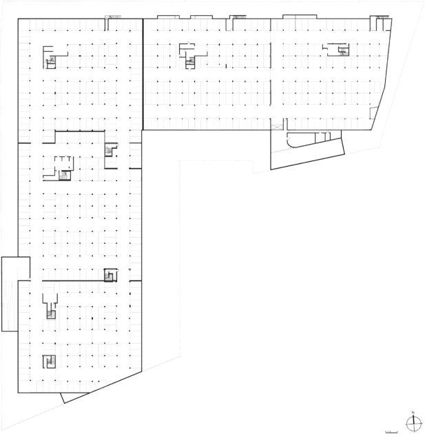 Golhen Associés - Caisse d'Epargne - Cesson-Sévigné - Plan Sous Sol