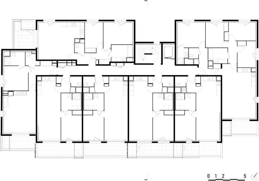 Golhen Associés - La Bergerie - Bâtiment A - Plan