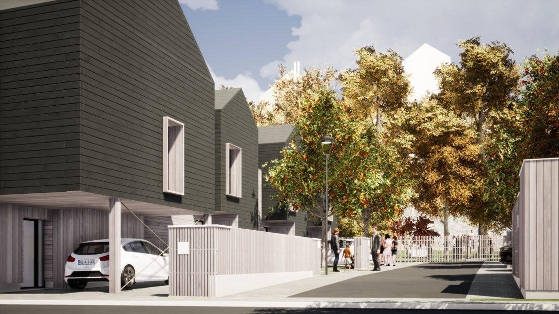 Golhen Associés - Via Silva - Phase 2 - Maisons - Perspective 2