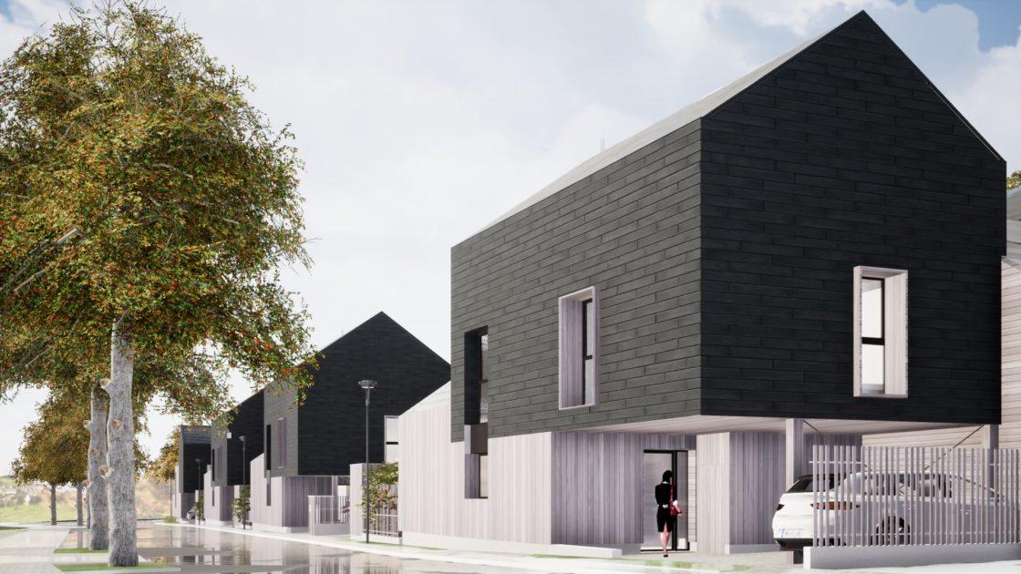 Golhen Associés - Via Silva - Phase 2 - Maisons - Perspective 3