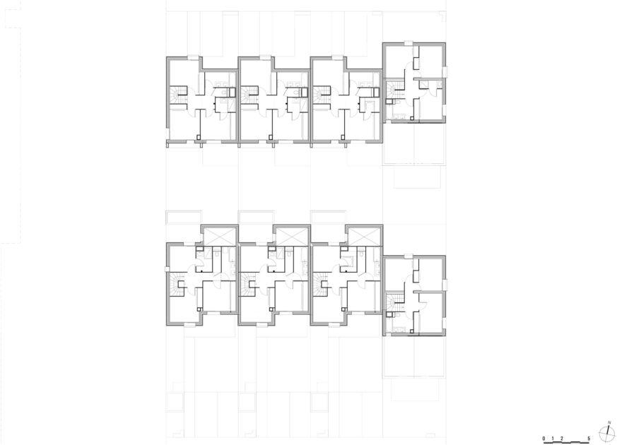 Golhen Associés - Via Silva - Phase 2 - Maisons - Plan Etage 1