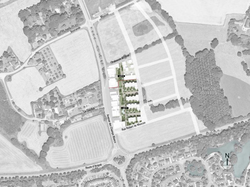 Golhen Associés - Via Silva - Phase 2 - Maisons - Plan Masse
