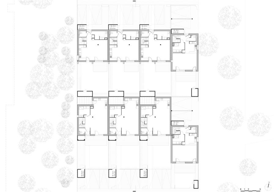 Golhen Associés - Via Silva - Phase 2 - Maisons - Rez-de-chaussée
