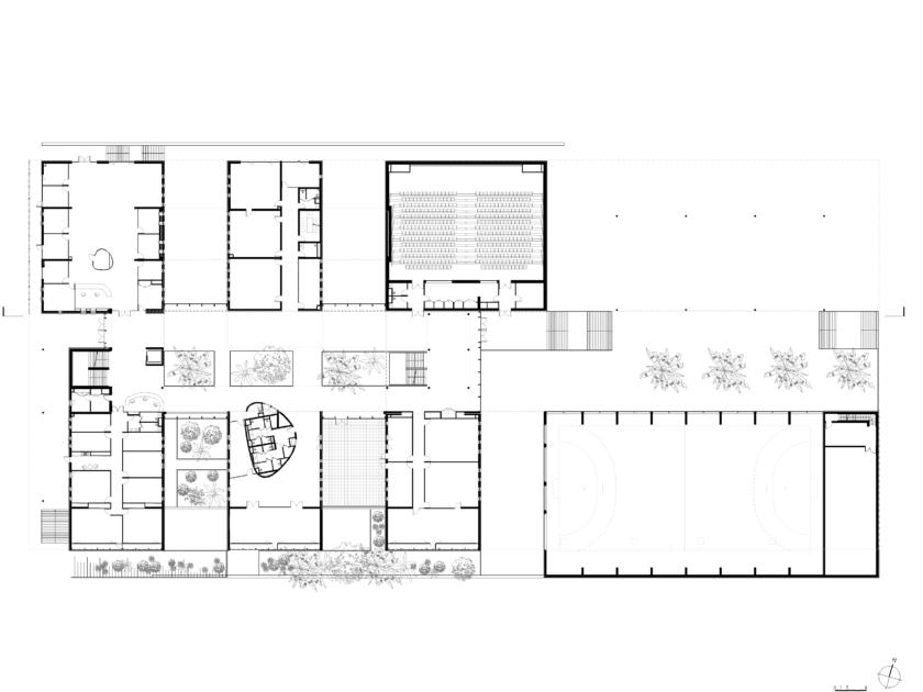 Golhen Associés - Ecole Centrale - Casablanca - Plan