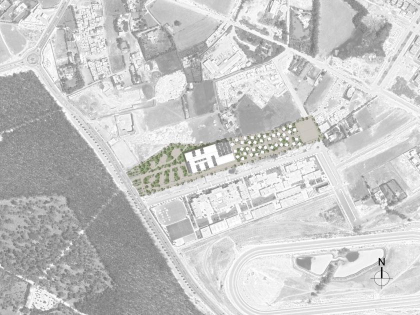 Golhen Associés - Ecole Centrale - Casablanca - Plan Masse.png