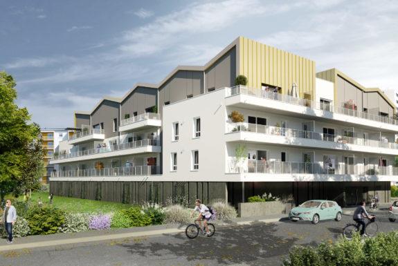 Golhen Associés - Le Majorelle - Lorient - Perspective