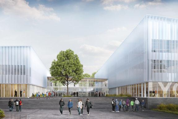 Golhen Associés - Lycée - Liffré - Perspective